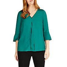 Buy Studio 8 Amelie Top, Emerald Online at johnlewis.com