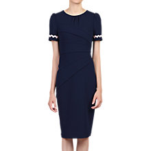 Buy Jolie Moi Lace Trimmed Fold Detail Dress Online at johnlewis.com