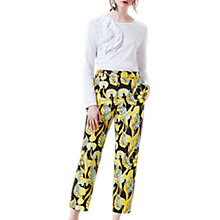 Buy Finery Ria Print Peg Trousers, Amazon Noveau Online at johnlewis.com