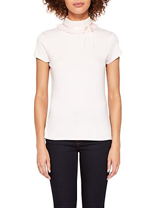 ec7f0bb72971be Ted Baker Ruffle Neck T-Shirt