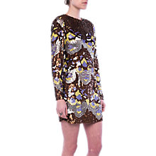 Buy French Connection Zelda Sequin Tunic Dress, Arrowood/Multi Online at johnlewis.com