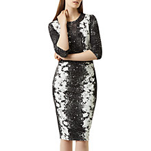 Buy Fenn Wright Manson Fleur Dress, Black/White Online at johnlewis.com