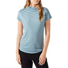 Buy Jigsaw Turtleneck T-Shirt, Dusty Aqua Online at johnlewis.com