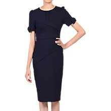 Buy Jolie Moi Bow Detail Bodycon Dress, Navy Online at johnlewis.com