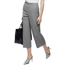 Buy Reiss Austin Wide Leg Tailored Trousers, Grey Online at johnlewis.com