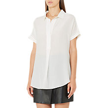 Buy Reiss Palma Open Neck Top Online at johnlewis.com