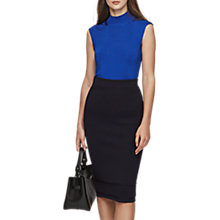 Buy Reiss Gwen High Neck Top Online at johnlewis.com
