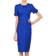 Buy Jolie Moi Bow Detail Bodycon Dress, Royal Blue Online at johnlewis.com