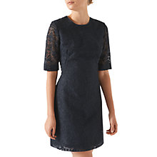 Buy Jigsaw Iris Lace Dress, Rock Online at johnlewis.com