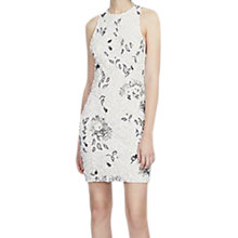 Buy French Connection Valerie Sparkle Dress, Winter White Online at johnlewis.com
