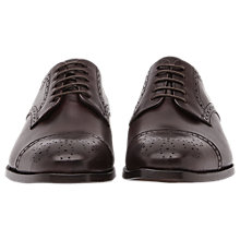 Buy Reiss Kolmer Leather Brogues, Bordeaux Online at johnlewis.com