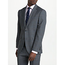 Buy Chester by Chester Barrie Glen Check Wool Boucle Tailored Suit Jacket, Grey Online at johnlewis.com