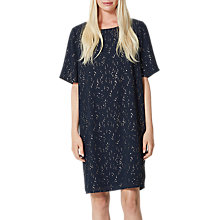 Buy Selected Femme Gertrud Printed Dress, Dark Sapphire Online at johnlewis.com
