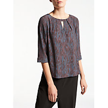 Buy Kin by John Lewis Pillar Print Top, Multi Online at johnlewis.com