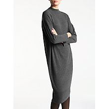 Buy Kin by John Lewis Knitted Oversized Dress, Grey Online at johnlewis.com