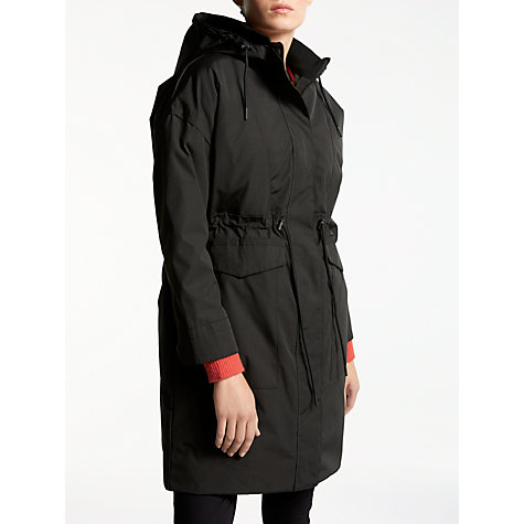 Buy Kin by John Lewis Removable Lining Parka Coat, Black | John Lewis