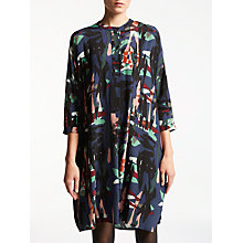 Buy Kin by John Lewis Raw Collage Shirt Dress, Multi Online at johnlewis.com