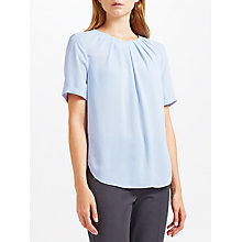 Buy John Lewis Darcie Blouse, Light Blue Online at johnlewis.com