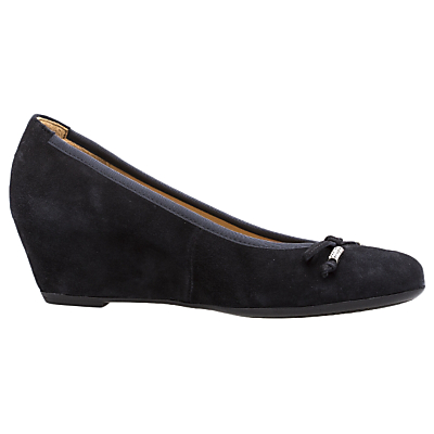 Gabor Alvin Concealed Wedge Heel Court Shoes