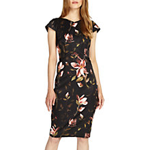 Buy Phase Eight Kailey Floral Dress, Black Online at johnlewis.com