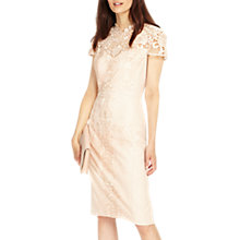 Buy Phase Eight Macela Lace Dress, Powder Online at johnlewis.com