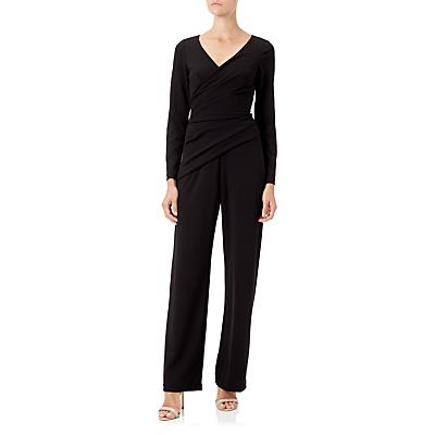 Adrianna Papell Crepe Knit Jumpsuit, Black