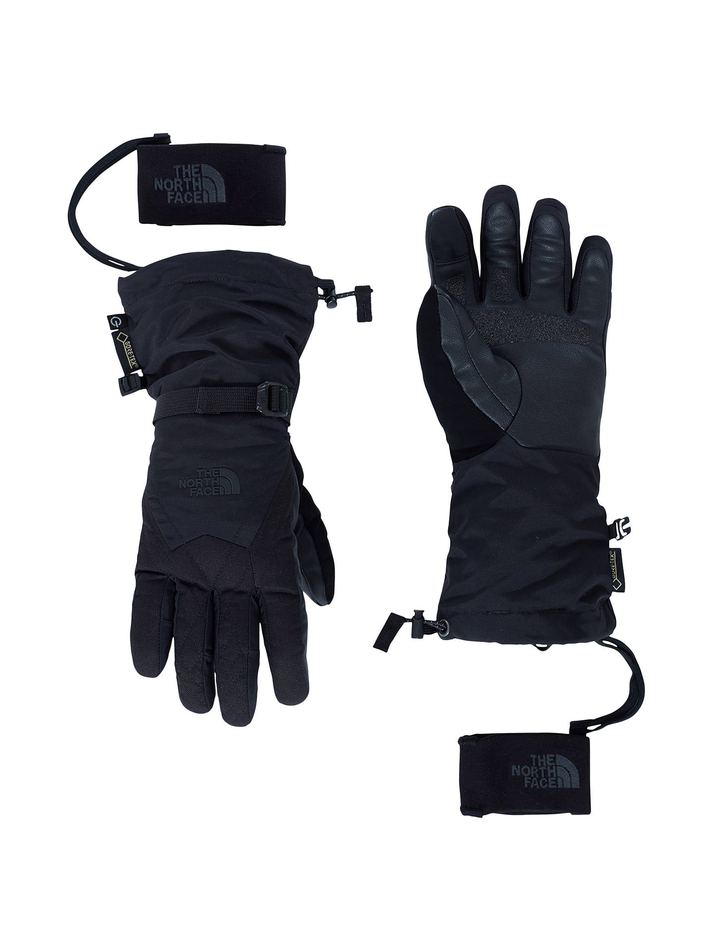 1c0e91363 The North Face Montana Etip Women's GORE-TEX Ski Gloves, Black at ...