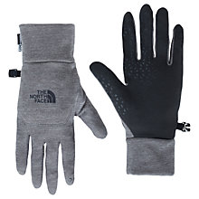 Buy The North Face Etip Gloves, Grey Heather Online at johnlewis.com