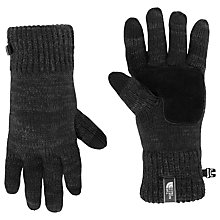 Buy The North Face Salty Dog Knitted Etip Gloves, Grey Online at johnlewis.com