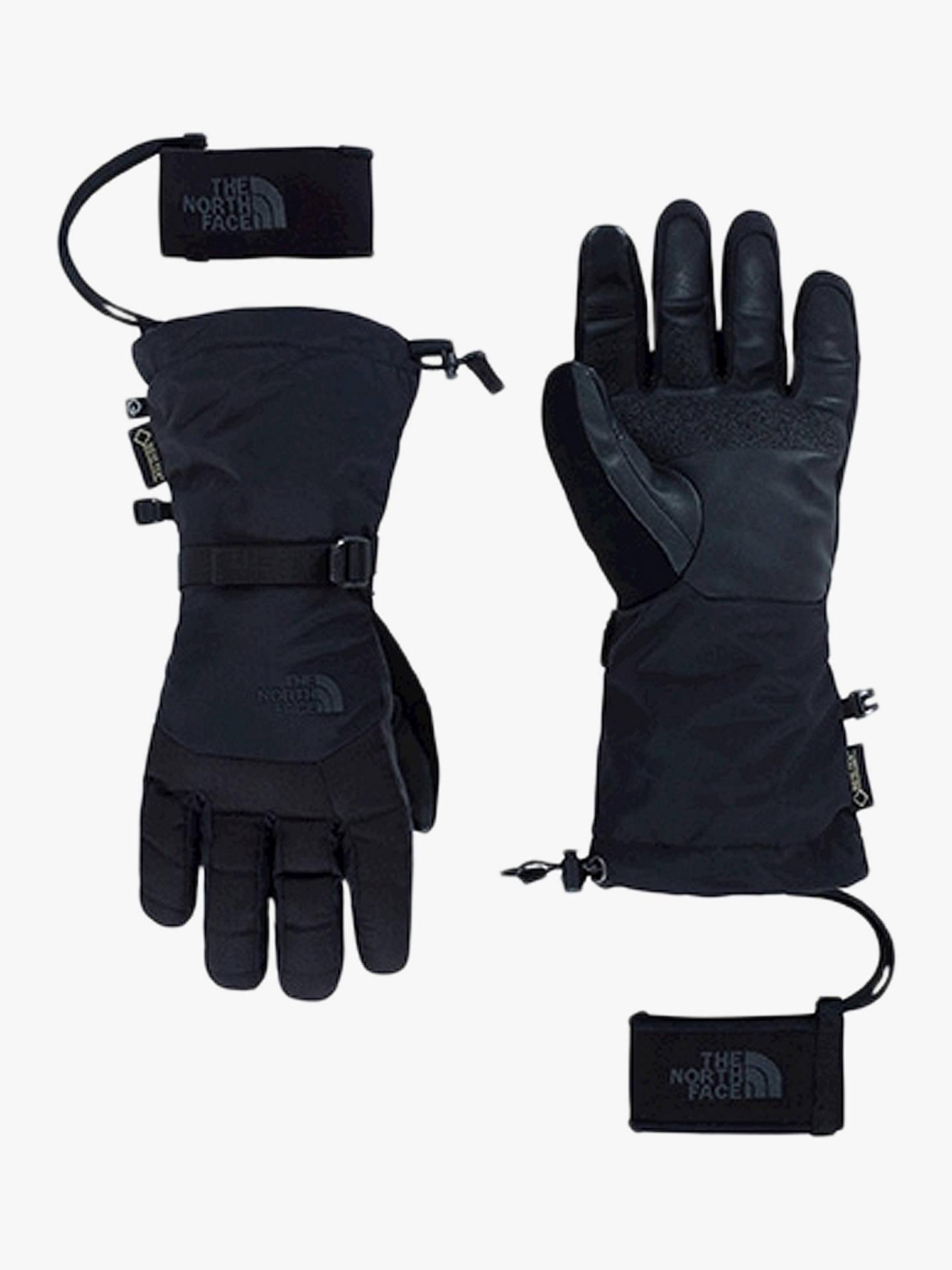 9f2df4778ddd7b The North Face Montana Etip Men's GORE-TEX Ski Gloves, Black at John ...