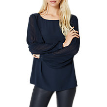 Buy Selected Femme Freja Top, Dark Sapphire Online at johnlewis.com