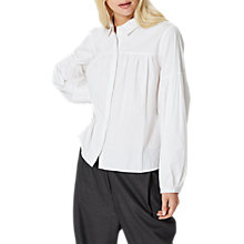 Buy Selected Femme Wicki Shirt, Snow White Online at johnlewis.com