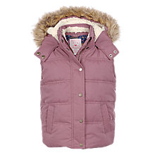 Buy Fat Face Girls' Abbey Gilet Online at johnlewis.com