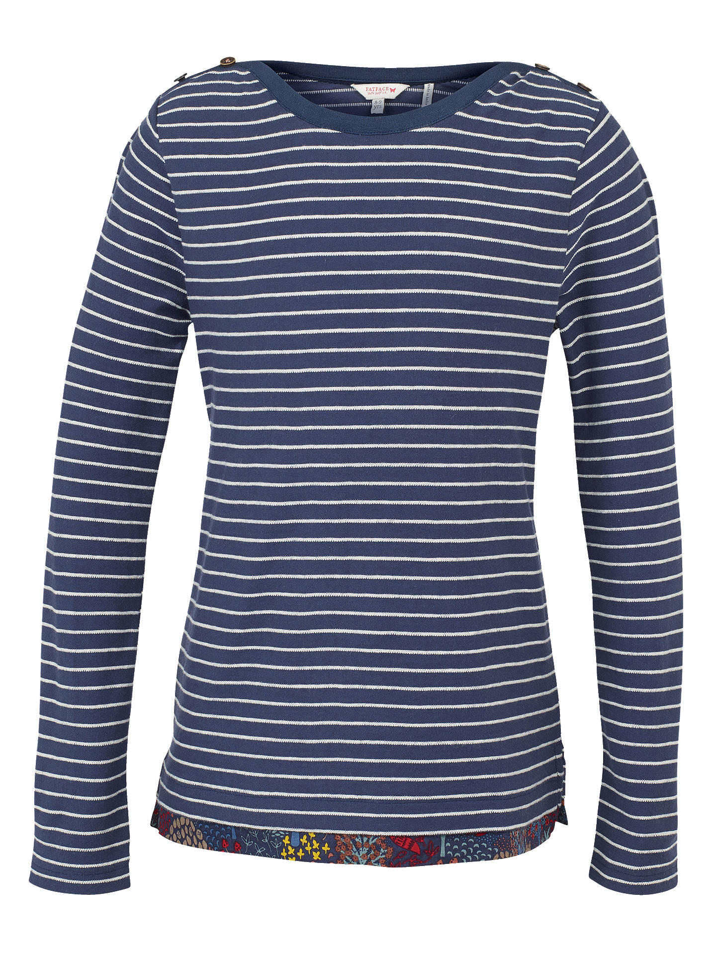 24a5db11eff BuyFat Face Girls  Long Sleeved Breton Striped T-Shirt