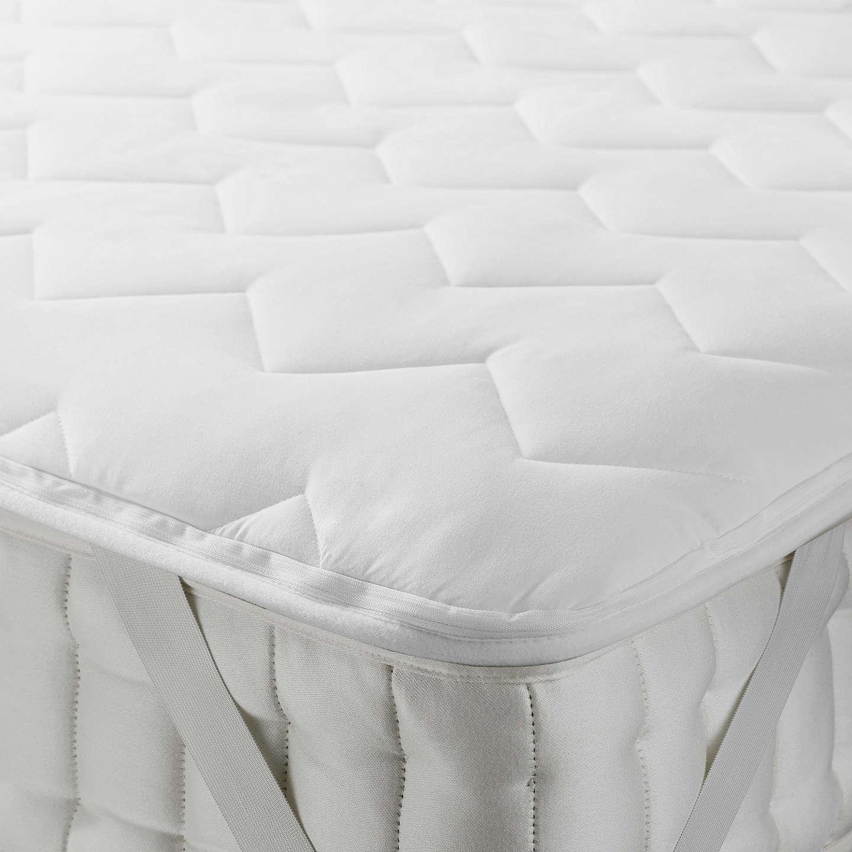 monogram komfort heated mattress fleecy topper soft electric by pad beurer