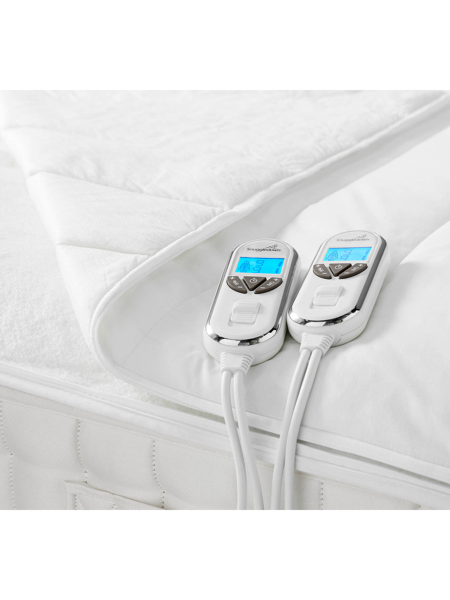 BuySnuggledown Intelligent Warmth Supreme Comfort Heated Mattress Topper, Single Online at johnlewis.com