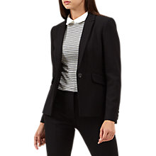 Buy Hobbs Gabi Jacket, Black Online at johnlewis.com