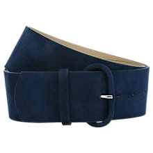 Buy Hobbs Alisha Suede Belt Online at johnlewis.com