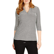Buy Studio 8 Naya Top, Black/White Online at johnlewis.com