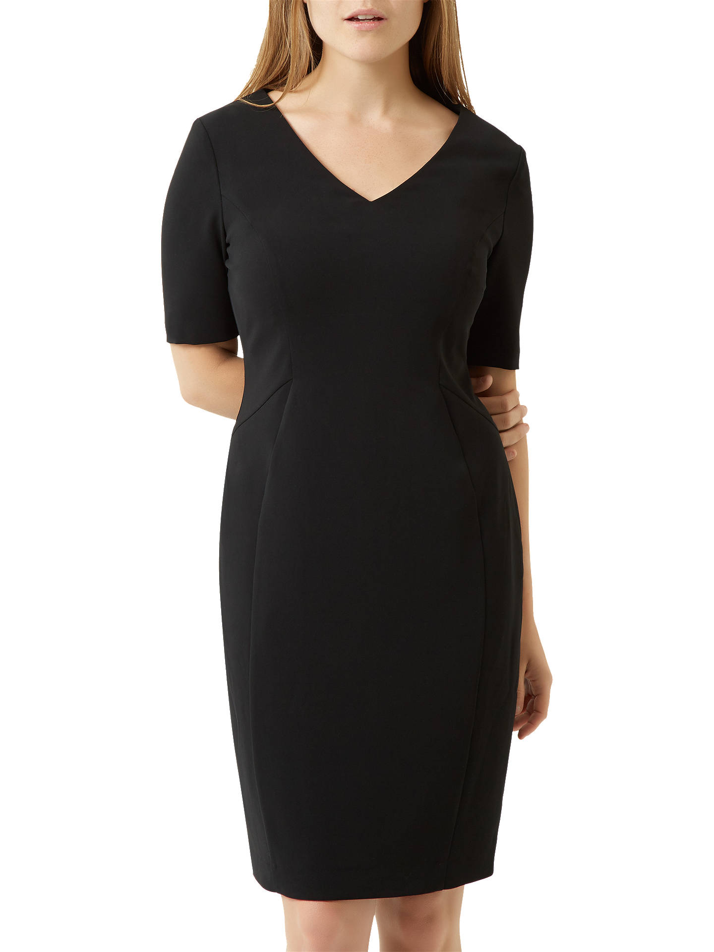 BuyFenn Wright Manson Petite Harper Dress, Black, 8 Online at johnlewis.com