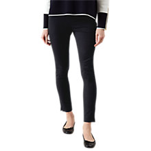 Buy Hobbs Amanda Capri Trousers, Black Online at johnlewis.com