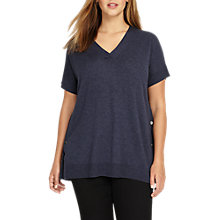 Buy Studio 8 Kindy Knitted Top, Blue Online at johnlewis.com