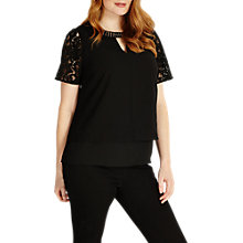 Buy Studio 8 Sasha Top, Black Online at johnlewis.com
