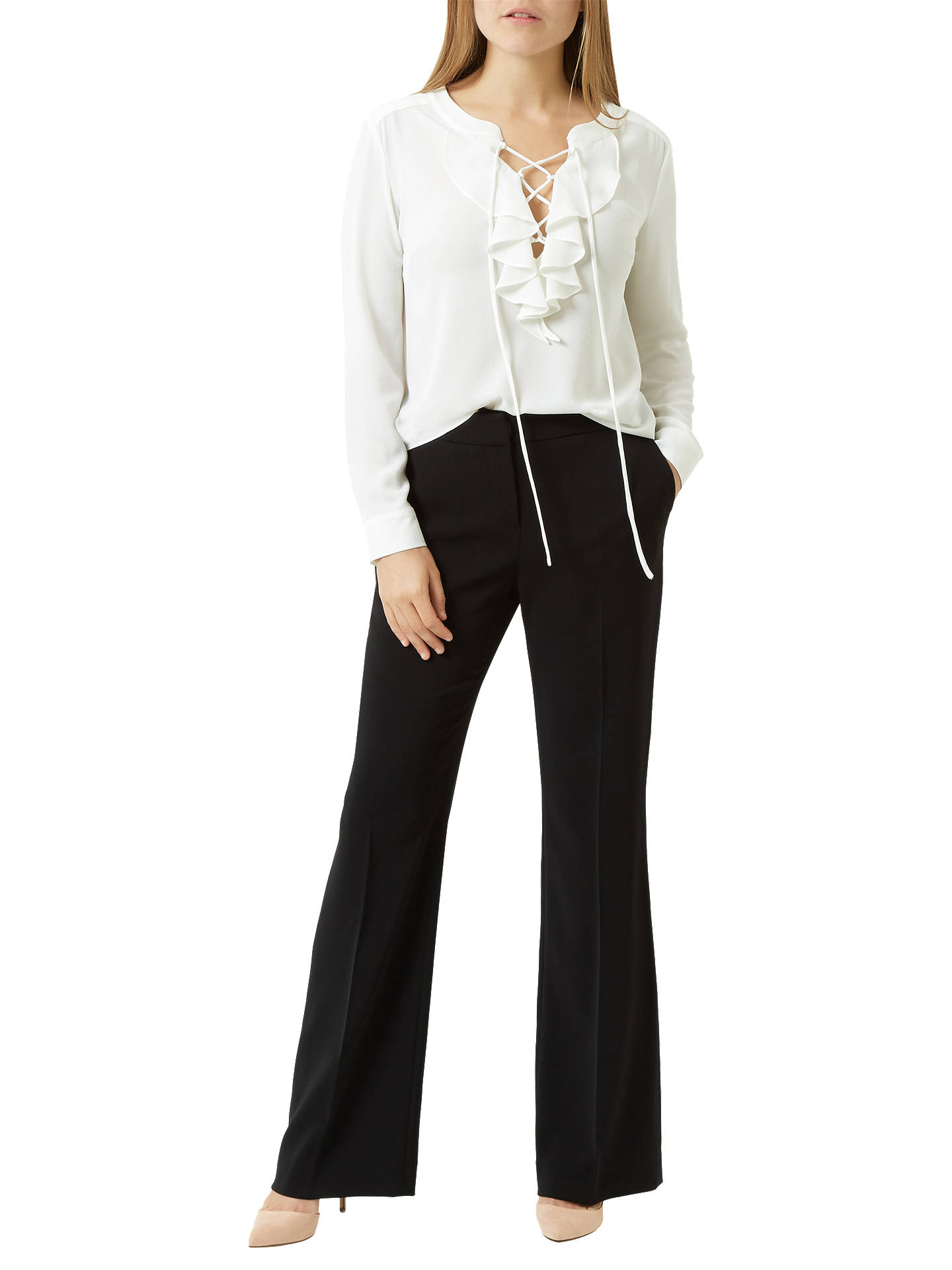 3a903d6dc3a2 ... Buy Fenn Wright Manson Petite Harper Trouser, Black, 8 Online at  johnlewis.com ...