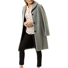 Buy Fenn Wright Manson Petite Rose Coat, Grey Online at johnlewis.com