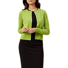 Buy Hobbs Marley Cardigan, Mimosa Online at johnlewis.com