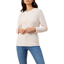 Buy Hobbs Lilly Sweater, Pretty Pink Online at johnlewis.com