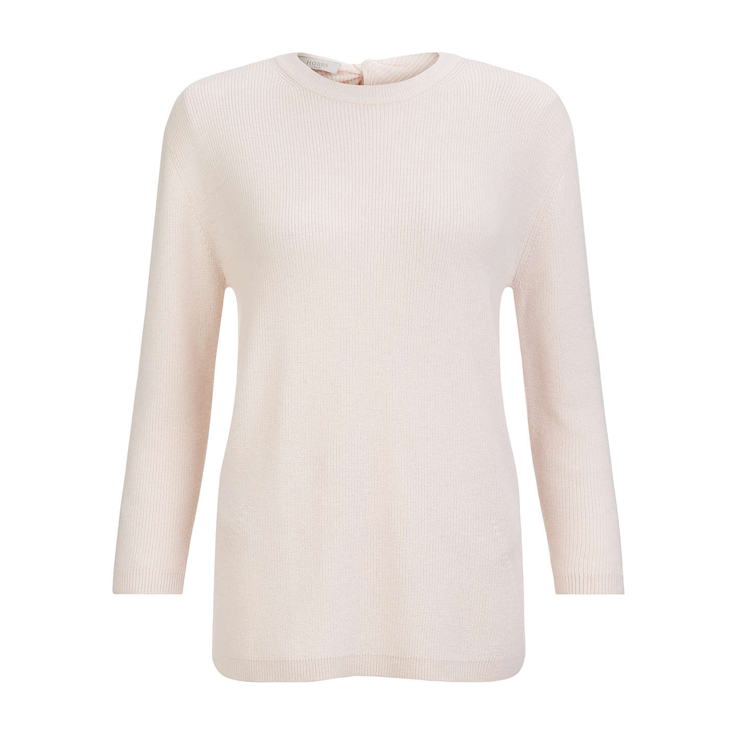 BuyHobbs Lilly Sweater, Pretty Pink, XS Online at johnlewis.com