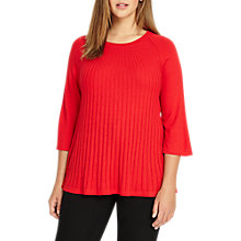 Buy Studio 8 Taylor Knit Top, Red Online at johnlewis.com