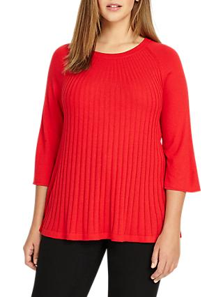 Studio 8 Taylor Knit Top, Red